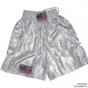 Boxing Trunks, Fitness, Training Shorts - All White