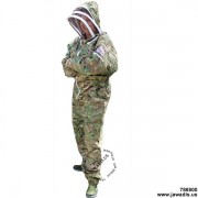 Camouflage Green Jawadis Adult Full Bee Suit with Fence Veil - Christmas Gift