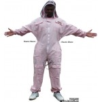 Adult Full Bee Suit with Fence Style Veil - Pink - Christmas Gift Ideas