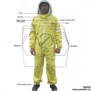 Adult Full Bee Suit with Fence Style - Yellow - Christmas Gift Ideas