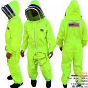 Adult Full Bee Suit with Fence Style - Fluorescent Yellow - Christmas Gift Ideas