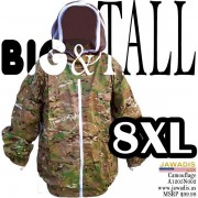 8XL Camouflage Green Beekeeping Bee Jacket with Fence Veil - FREE Bee Gloves