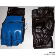 Jawadis Blue/Black Fightgear Best MMA Grapple Gear Glove for Men