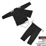 Jawadis Double Weave Black Pro BJJ Brazilian Jiu Jitsu Gi Uniform