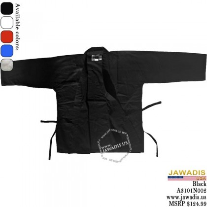 Jawadis 7-oz Best Black Judo Gi, judo Gi for Sale with Belt