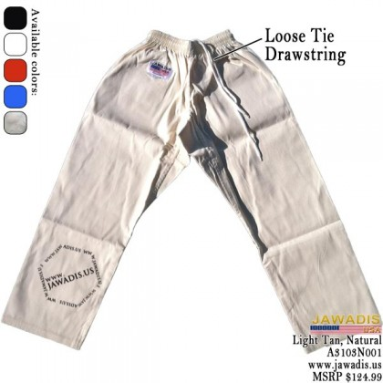 Jawadis Unbleached Lightweight Judo Gi for Competition with Belt