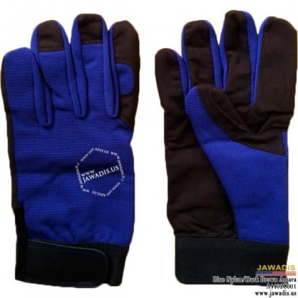 Soft Palm Best Auto Mechanic Gloves Cheap Blue - Size L