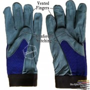 Mechanic Vented Gloves Best Auto Mechanic Gloves Cheap Blue