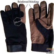 Lightweight Maintenance & Repair Best Mechanic Gloves Dark Tan - Size L