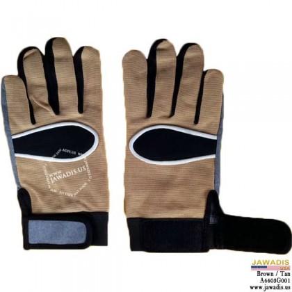 Lightweight Gardening, Inspection, Assembly, Mechanic Gloves Tan