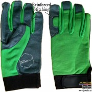 Multipurpose Best Cheap Mechanic Gloves Dexterity Neon Green - Size L