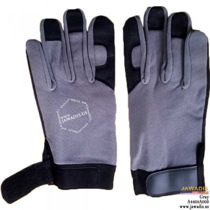 Maintenance & Repair, Equipment Operation Mechanic Gloves Gray - Size L