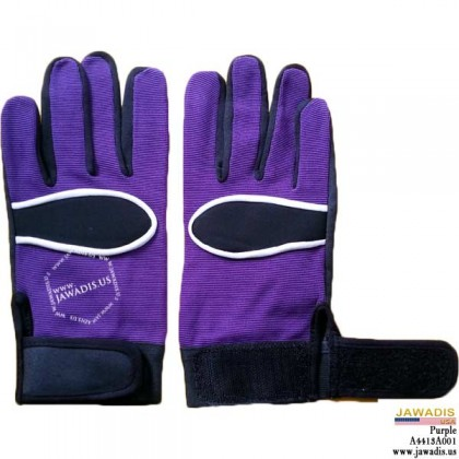 General Purpose, Equipment Operation Mechanic Gloves Purple