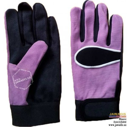 General Purpose, Equipment Operation Mechanic Gloves Mauve - Size L