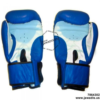 Men's Blue Training & Competition Pro Boxing Gloves for Sale