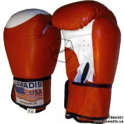 Men's Red Professional Boxing Gloves for Firtness and Competition