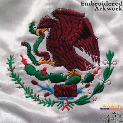 Mexico Boxing Shorts Trunks for Men Embroidered Flag 2XL