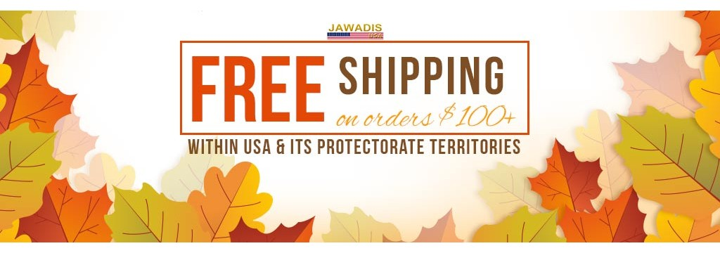 Jawadis FREE Shipping Entire Site on orders $100+
