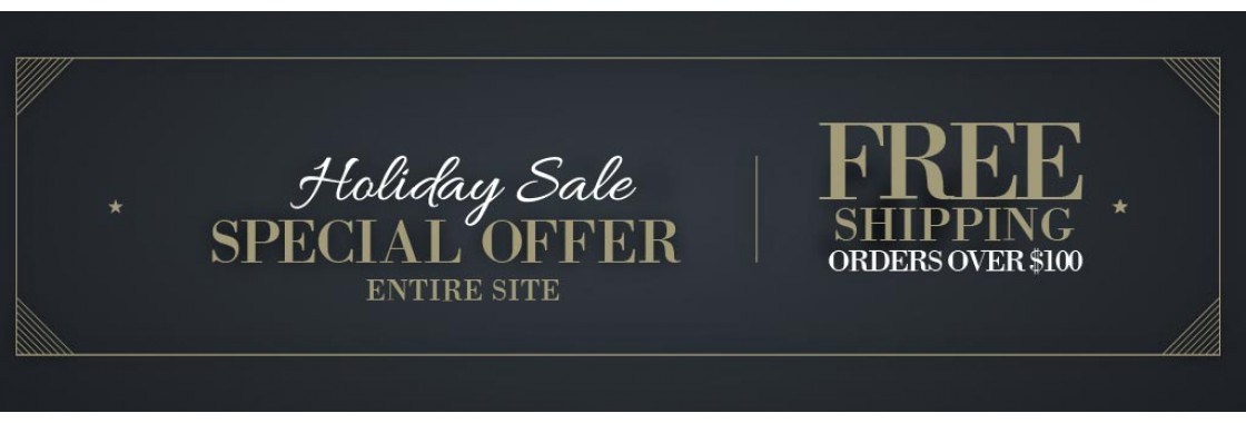 Free Shipping on all orders over $100 - entire Jawadis website