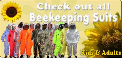 Jawadis Adult Bee Suits