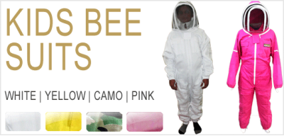 Kids Bee Suits