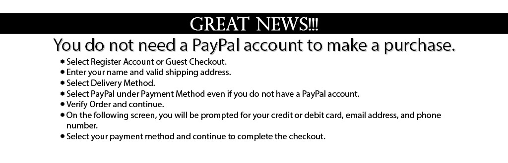 No PayPal Account? No Problem!