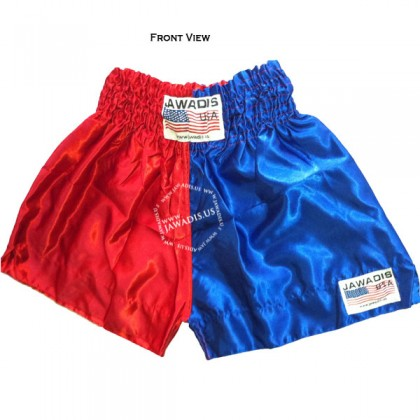 Adult Red & Blue Pro Training Boxers Best Boxing Shorts Gym Trunks