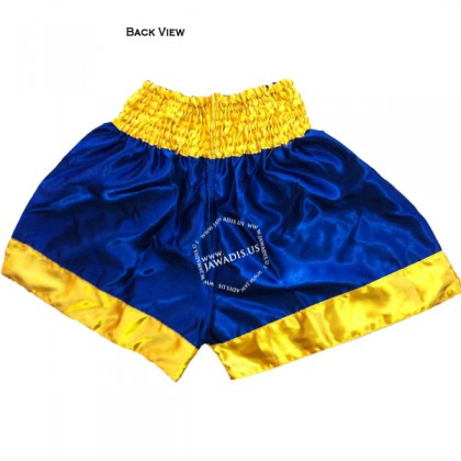 Adult Blue & Yellow Training Boxers Best Boxing Shorts Gym Trunks - Christmas Gift Ideas