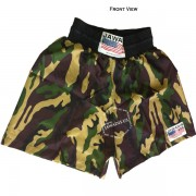 Adult Camouflage Pro Training Boxers Baggy Gym Shorts Gym Trunks