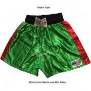 Adult Green & Black Training Boxers Best Boxing Shorts Gym Trunks - Christmas Gift Ideas