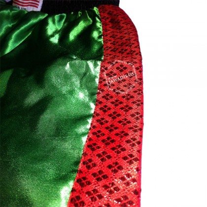 Adult Green & Black Training Boxers Best Boxing Shorts Gym Trunks