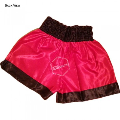 Adult Red & Black Training Boxers Best Boxing Shorts Gym Trunks