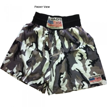 Adult Snow Camo Training Boxers Best Boxing Shorts Gym Trunks - Christmas Gift Ideas