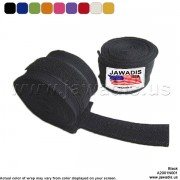 Jawadis Black MMA Wrap Hands Boxing for Heavy Bag Thai Wrap