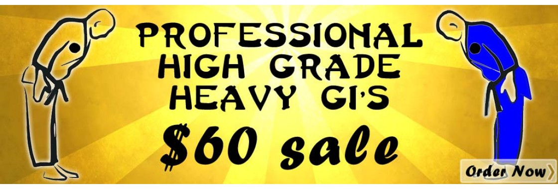 $60 Professional High Grade Heavy Gi. WOW!!!