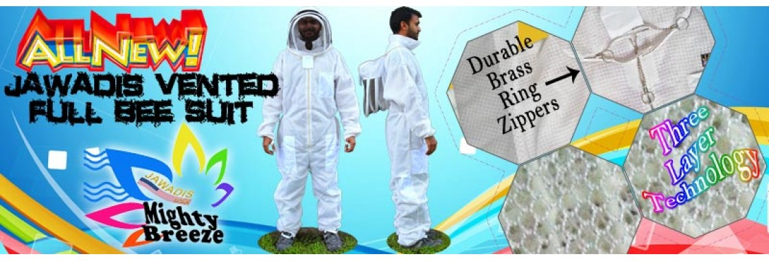 Jawadis ventilated full beekeepers suit