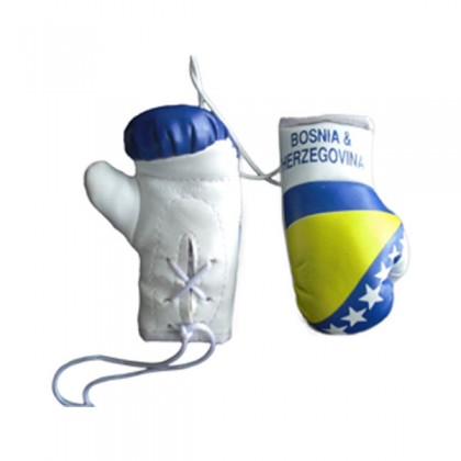 Mini Boxing Gloves - Bosnia and Herzegovina