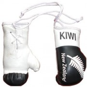 Mini Boxing Gloves - New Zealand - Black
