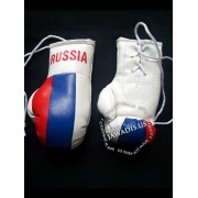 Mini Boxing Gloves - Russia