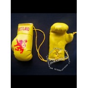 Mini Boxing Gloves - Scotland - Yellow