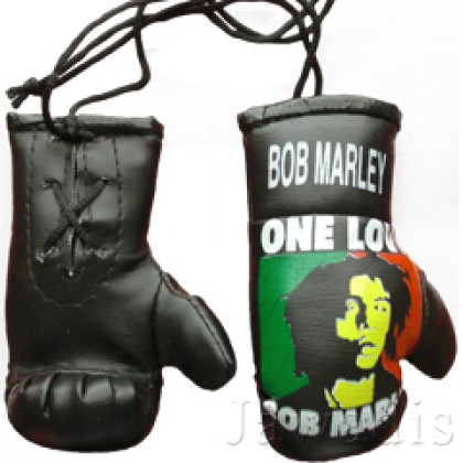 Mini Boxing Gloves - Bob Marley - Reggae One Love - Baby Rasta