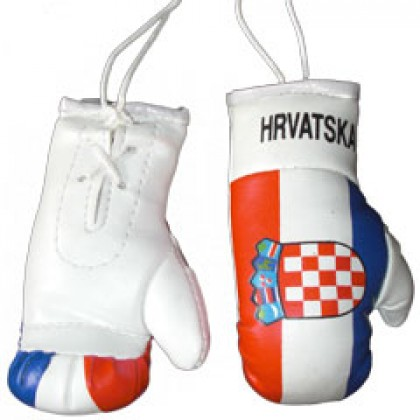 Mini Boxing Gloves - Croatia HRVATSKA