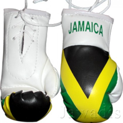 Mini Boxing Gloves - Jamaica Flag