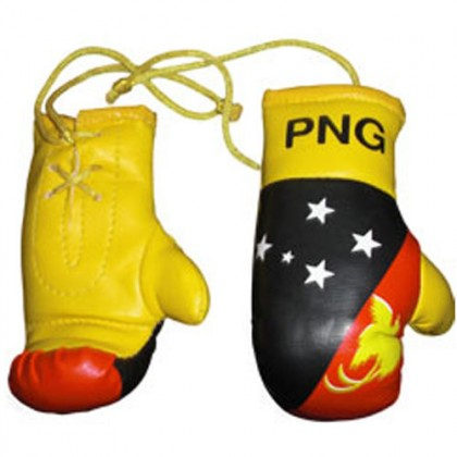 Mini Boxing Gloves - PNG, Papua New Guinea