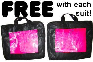 Jawadis FREE carry case with each bee suit purchase!