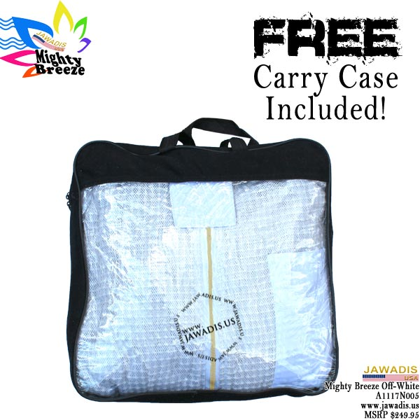 Jawadis Carry Case included with each ultra breeze bee suit purchase.