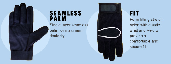 Jawadis seamless palm, perfect fit mechanic gloves.