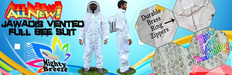 Jawadis ultrabreeze-like full bee suit with sizes up to 10XL! Wow!